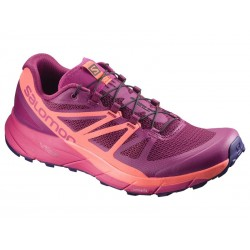 Salomon SENSE RIDE W Sangria/Living Cor/Vi