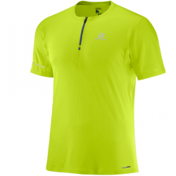 Salomon AGILE HZ SS TEE M Acid Lime