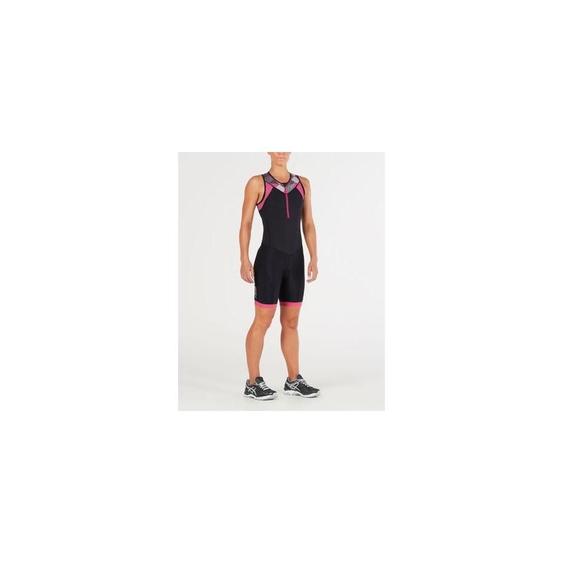 2XU Active Trisuit Noir/Rose