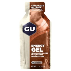 Gu Gel Energy - Chocolate Outrage (Chocolat Intense)